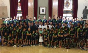 Limcamar brinda su apoyo al proyecto deportivo Valverde Team