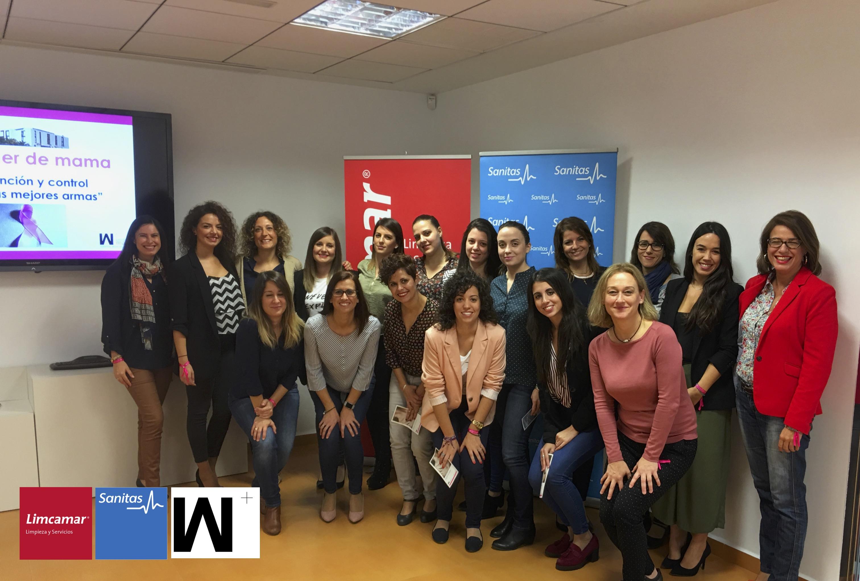 Limcamar limcamar en colaboraci n con sanitas organiza un taller de prevenci n de c ncer de mama - Sanitas oficinas centrales ...