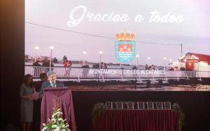 Reconocimiento a Limcamar por su solidaridad en las inundaciones de Los Alcázares