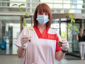 Conmemoramos el Día Mundial del Medio Ambiente junto al Hospital Universitario del Mar Menor