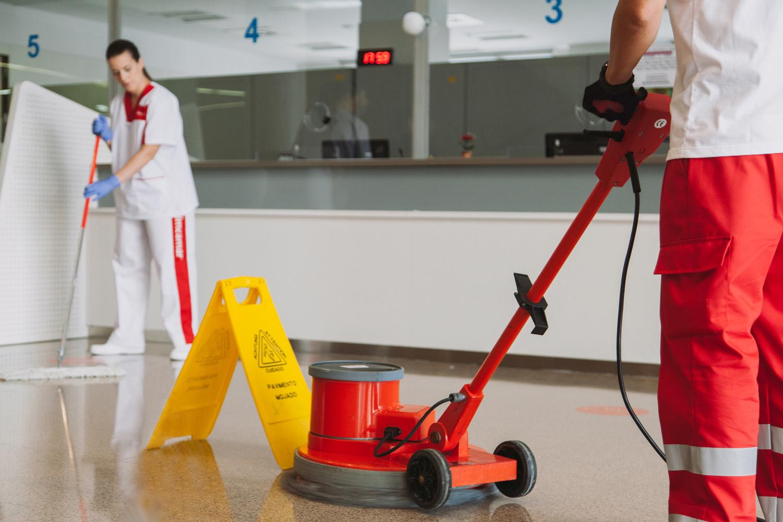 Servicios de mantenimiento integral de edificios