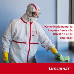 ¿Cómo implementar la limpieza frente a la COVID-19 en tu empresa?
