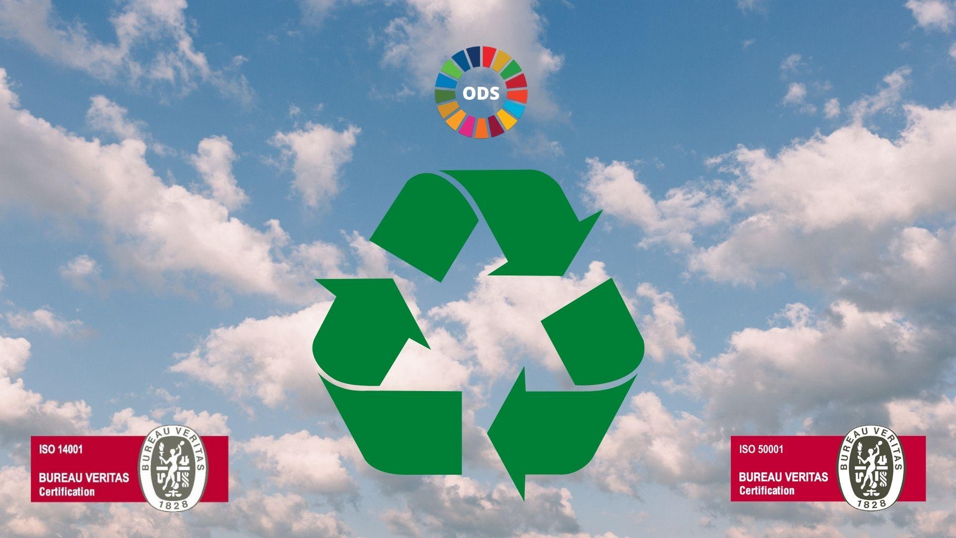 Reciclaje, ODS e ISO 14001 y 50001
